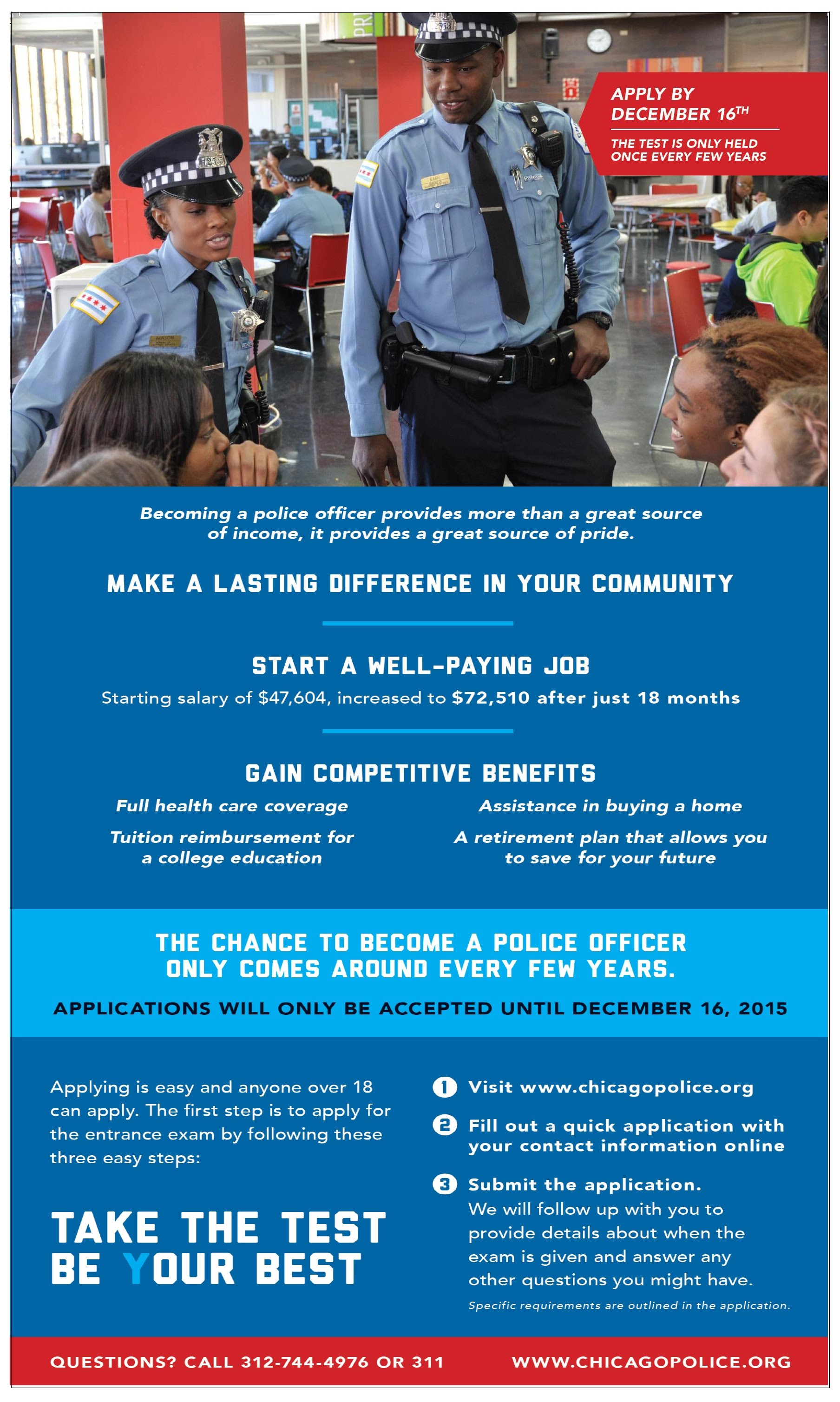 Comments - How to apply to become a police officer ...